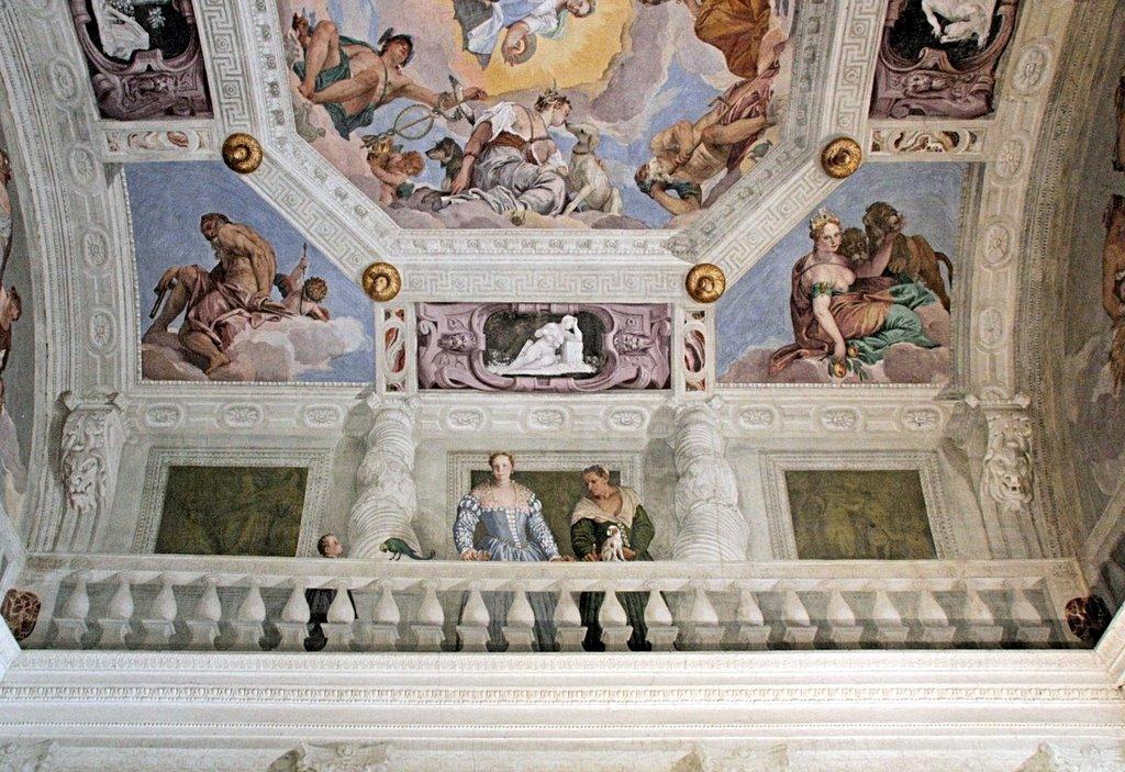 affreschi del Veronese Asolo, Maser e Possagno: i luoghi di Palladio e Canova
