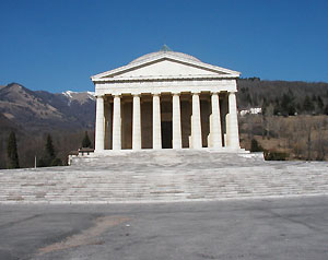 tempio canoviano Asolo, Maser e Possagno: i luoghi di Palladio e Canova