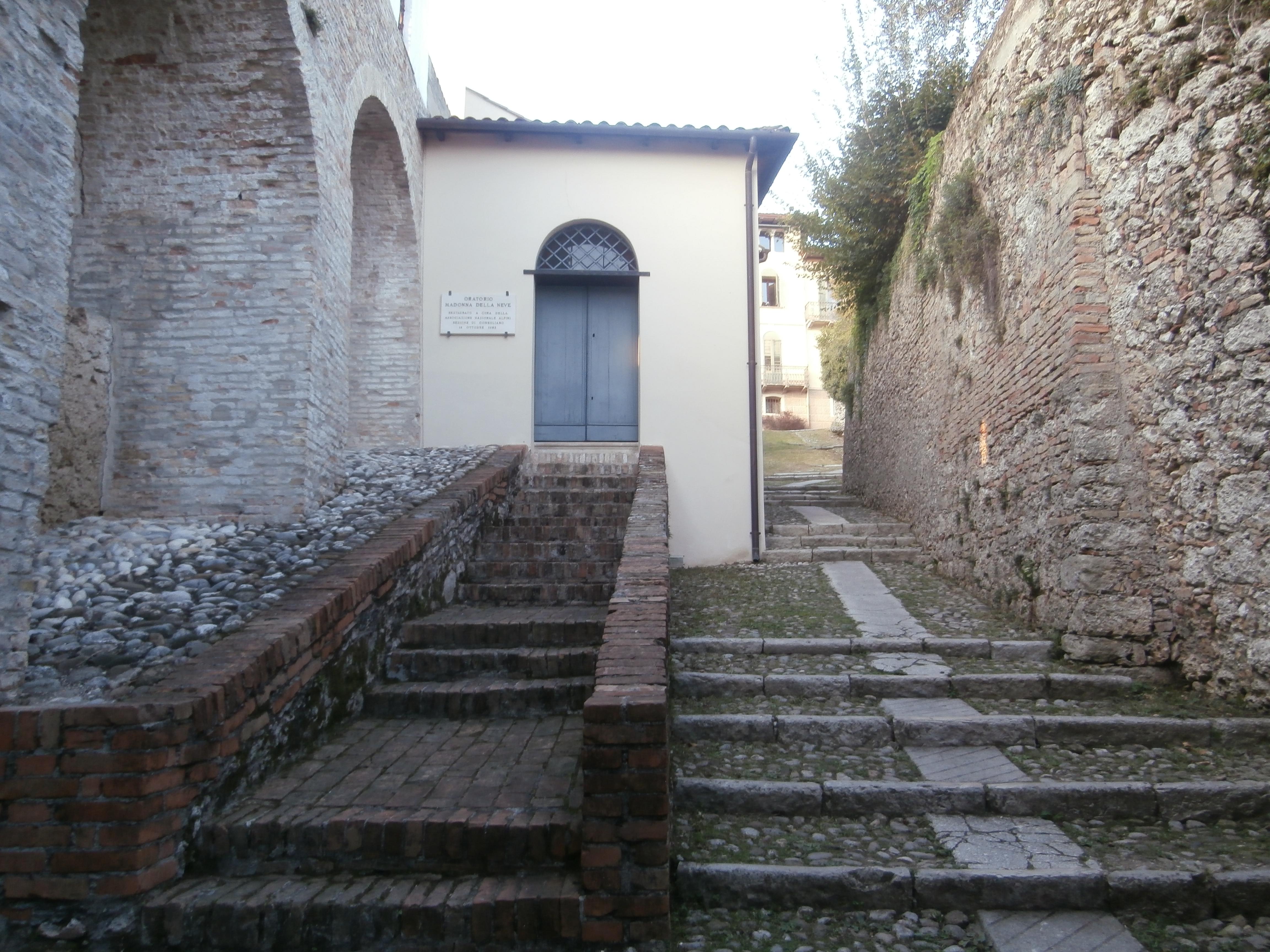 chiesetta I castelli (Collalto  Susegana  Conegliano  Castelbrando  Zumelle)